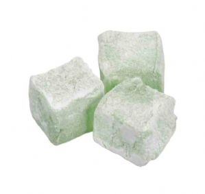 Mint/Creme De Menth Flavour Turkish Delight 100g
